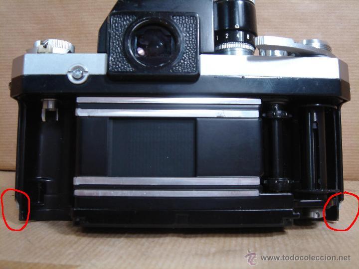 Cámara de fotos: CUERPO NIKON F FTN - 35 MM SLR CON PHOTOMIC T - AÑO 1970 - ¡¡¡ FUNCIONANDO ¡¡¡ - Foto 9 - 46418503