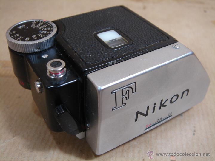 Cámara de fotos: CUERPO NIKON F FTN - 35 MM SLR CON PHOTOMIC T - AÑO 1970 - ¡¡¡ FUNCIONANDO ¡¡¡ - Foto 11 - 46418503