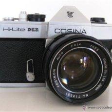 Cámara de fotos: CÁMARA COSINA REFLEX, MOD. HI-LITE DLR, MADE IN JAPAN, CON ESTUCHE ORIGINAL, FUNCIONANDO, IMPECABLE. Lote 46420457
