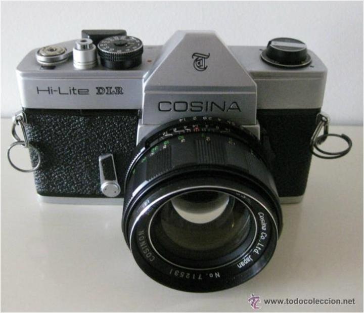 Cámara de fotos: CÁMARA COSINA REFLEX, MOD. HI-LITE DLR, MADE IN JAPAN, CON ESTUCHE ORIGINAL, FUNCIONANDO, IMPECABLE - Foto 4 - 46420457