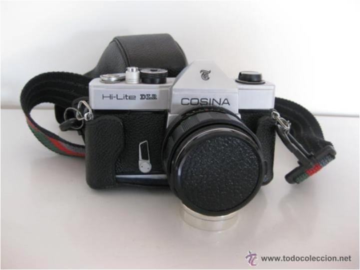 Cámara de fotos: CÁMARA COSINA REFLEX, MOD. HI-LITE DLR, MADE IN JAPAN, CON ESTUCHE ORIGINAL, FUNCIONANDO, IMPECABLE - Foto 12 - 46420457