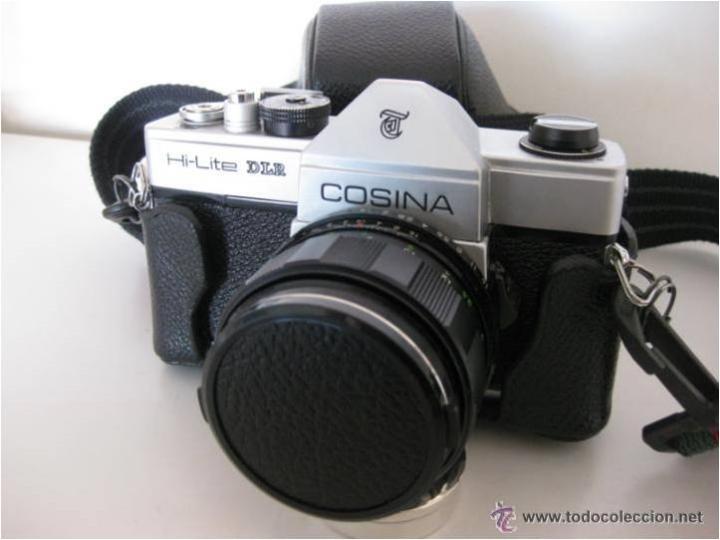 Cámara de fotos: CÁMARA COSINA REFLEX, MOD. HI-LITE DLR, MADE IN JAPAN, CON ESTUCHE ORIGINAL, FUNCIONANDO, IMPECABLE - Foto 13 - 46420457