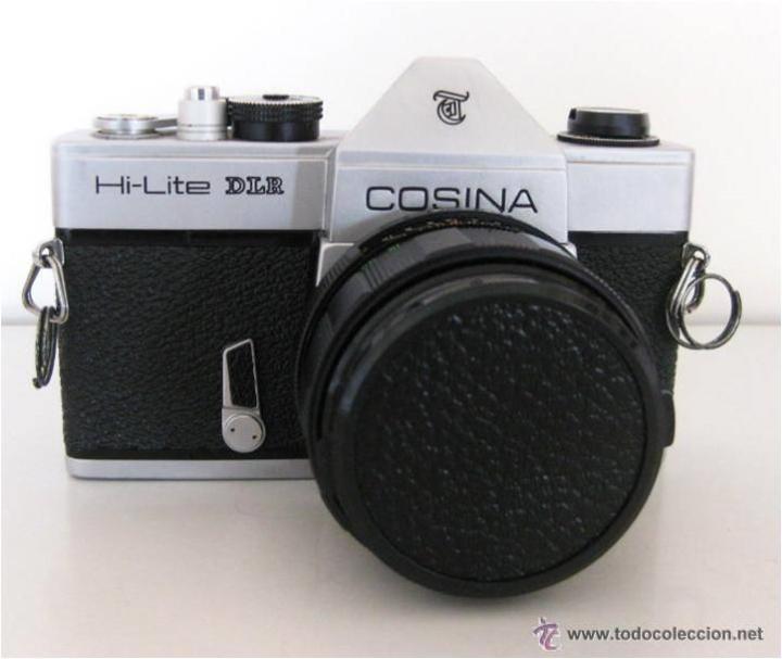 Cámara de fotos: CÁMARA COSINA REFLEX, MOD. HI-LITE DLR, MADE IN JAPAN, CON ESTUCHE ORIGINAL, FUNCIONANDO, IMPECABLE - Foto 17 - 46420457