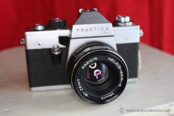PRAKTICA LTL + HELIOS 58MM 1:2 (Cámaras Fotográficas - Réflex (no autofoco))