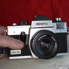 Cámara de fotos: REVUEFLEX (PRAKTICA L) + ORESTOR 50MM + FUNDA. Lote 46720357