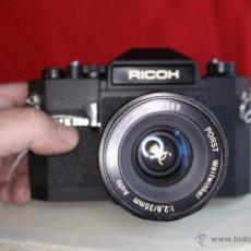 Cámara de fotos: RICOH SLX 500 + PORST 35MM 1:2,8 + FUNDA DE CUERO. Lote 46720676