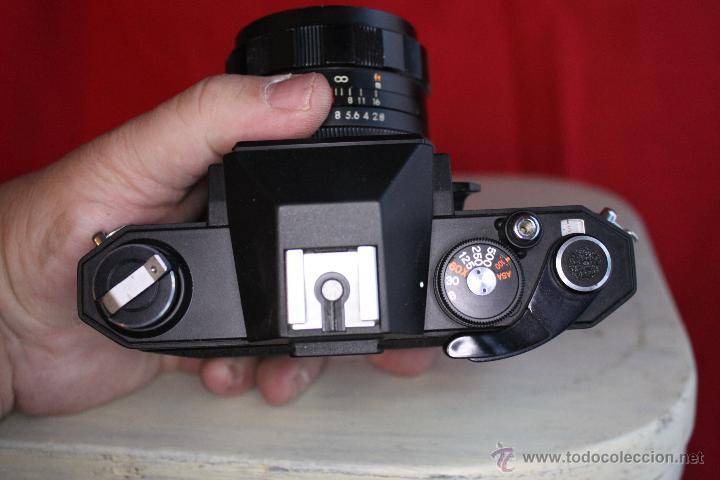 Cámara de fotos: Ricoh SLX 500 + Porst 35mm 1:2,8 + Funda de cuero - Foto 3 - 46720676