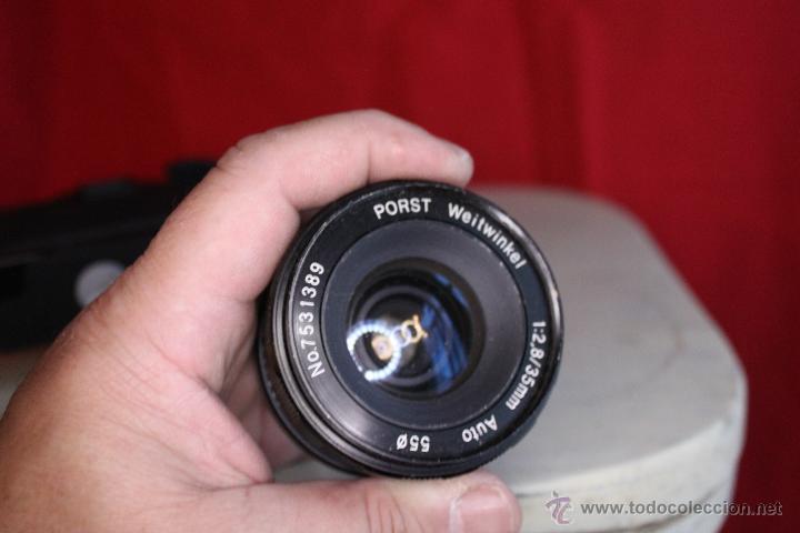 Cámara de fotos: Ricoh SLX 500 + Porst 35mm 1:2,8 + Funda de cuero - Foto 5 - 46720676