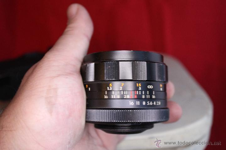 Cámara de fotos: Ricoh SLX 500 + Porst 35mm 1:2,8 + Funda de cuero - Foto 8 - 46720676