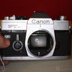 Cámara de fotos: CUERPO CANON FTB + CORREA CANON. Lote 46720954