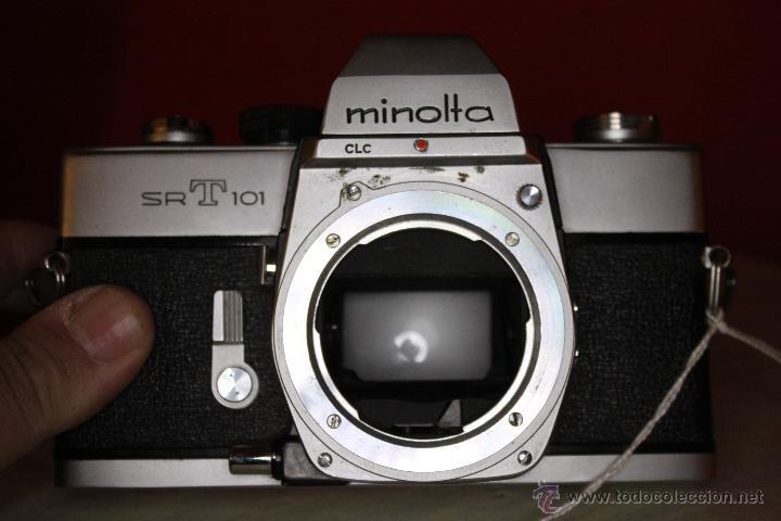 CUERPO MINOLTA SRT-101 (Cámaras Fotográficas - Réflex (no autofoco))