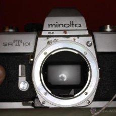 Cámara de fotos: CUERPO MINOLTA SRT-101. Lote 46723559