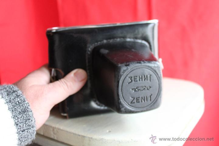 Cámara de fotos: Revueflex (Zenit) B + Helios 58mm 1:2 + Funda de cuero. - Foto 2 - 46727214
