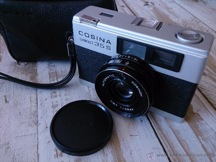 CÁMARA DE FOTOS COSINA COMPACT 35 S. (Cámaras Fotográficas - Réflex (no autofoco))