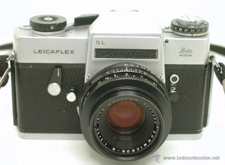 Cámara de fotos: LEICA LEICAFLEX SL + SUMMICRON f:2 / 50mm - Foto 4 - 46680158
