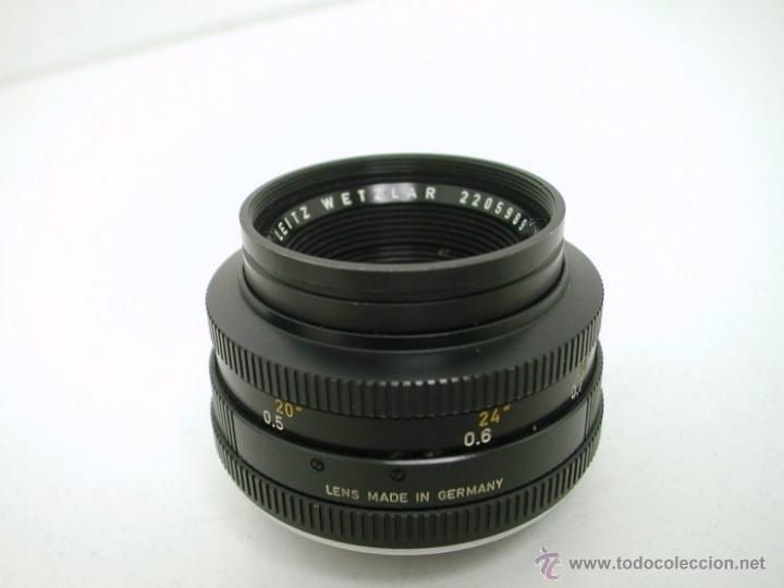 Cámara de fotos: LEICA LEICAFLEX SL + SUMMICRON f:2 / 50mm - Foto 8 - 46680158