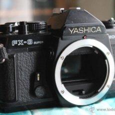 Cámara de fotos: CUERPO YASHICA FX3- SUPER 2000. Lote 47971893