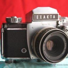 Cámara de fotos: EXAKTA VAREX IIB + CARL ZEISS TESSAR 50MM 1:2,8. Lote 48206269