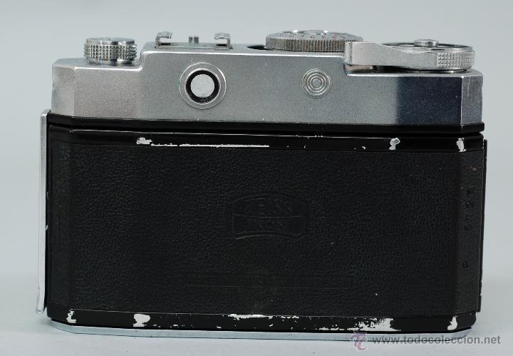 Cámara de fotos: Cámara Zeiss Ikon Contina Objetivo Novicar Anastigmat con su funda - Foto 3 - 48380211