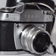 Cámara de fotos: IHAGEE EXA II A..CAMARA REFLEX MANUAL, ALEMANIA, DDR, 1963..+FUNDA+FILTRO...FUNCIONA.. Lote 48475422