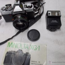Cámara de fotos: CAMARA DE FOTOS MINOLTA XG-1. Lote 48617634