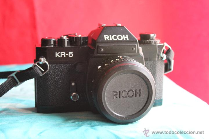 RICOH KR-5 + RICONAR 55MM 1:2,2 (Cámaras Fotográficas - Réflex (no autofoco))