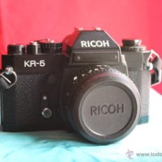 Cámara de fotos: RICOH KR-5 + RICONAR 55MM 1:2,2. Lote 48997560