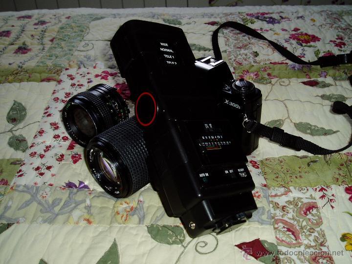 Cámara de fotos: Cámara Minolta X-300 S ( analógica ) con dos objetivos y flash - Foto 4 - 49561816