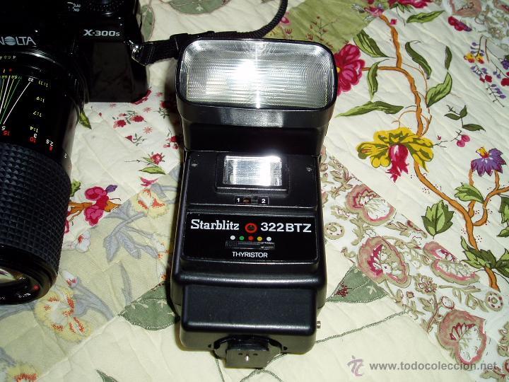 Cámara de fotos: Cámara Minolta X-300 S ( analógica ) con dos objetivos y flash - Foto 5 - 49561816