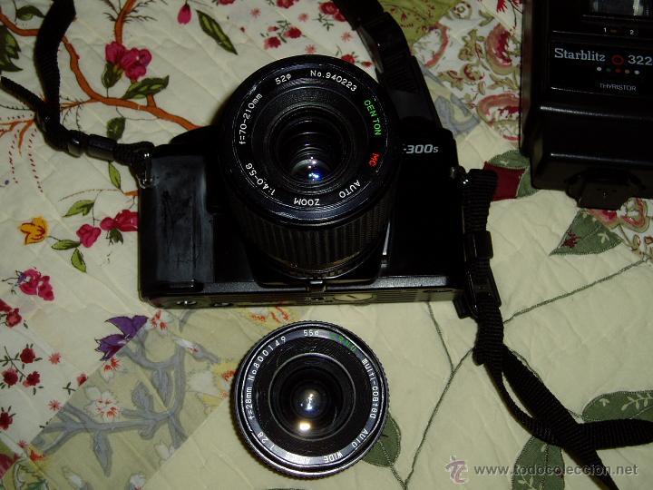 Cámara de fotos: Cámara Minolta X-300 S ( analógica ) con dos objetivos y flash - Foto 6 - 49561816