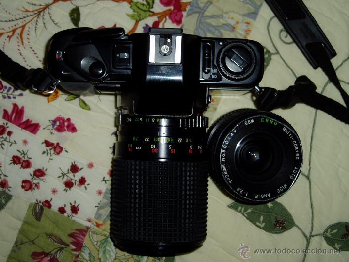 Cámara de fotos: Cámara Minolta X-300 S ( analógica ) con dos objetivos y flash - Foto 7 - 49561816
