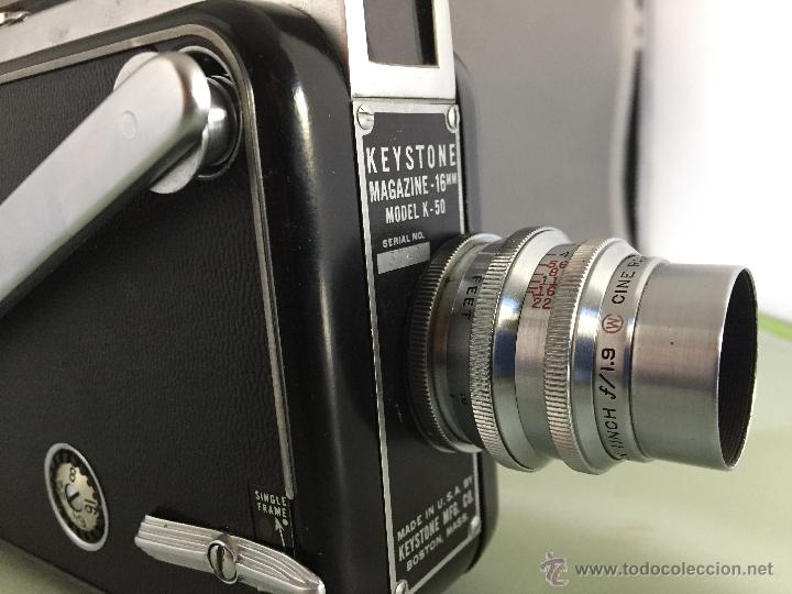KEYSTONE 16 MM MOD. K-50 (Cámaras Fotográficas - Réflex (no autofoco))