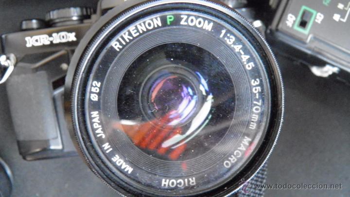 Cámara de fotos: RICOH.JAPONESA,OBJETIVO,FILTRO,DOS FLASH,BOLSA,FILM 24 EXP.VER IMAGENES Y DETALLES EN IMAGENES - Foto 7 - 50071521