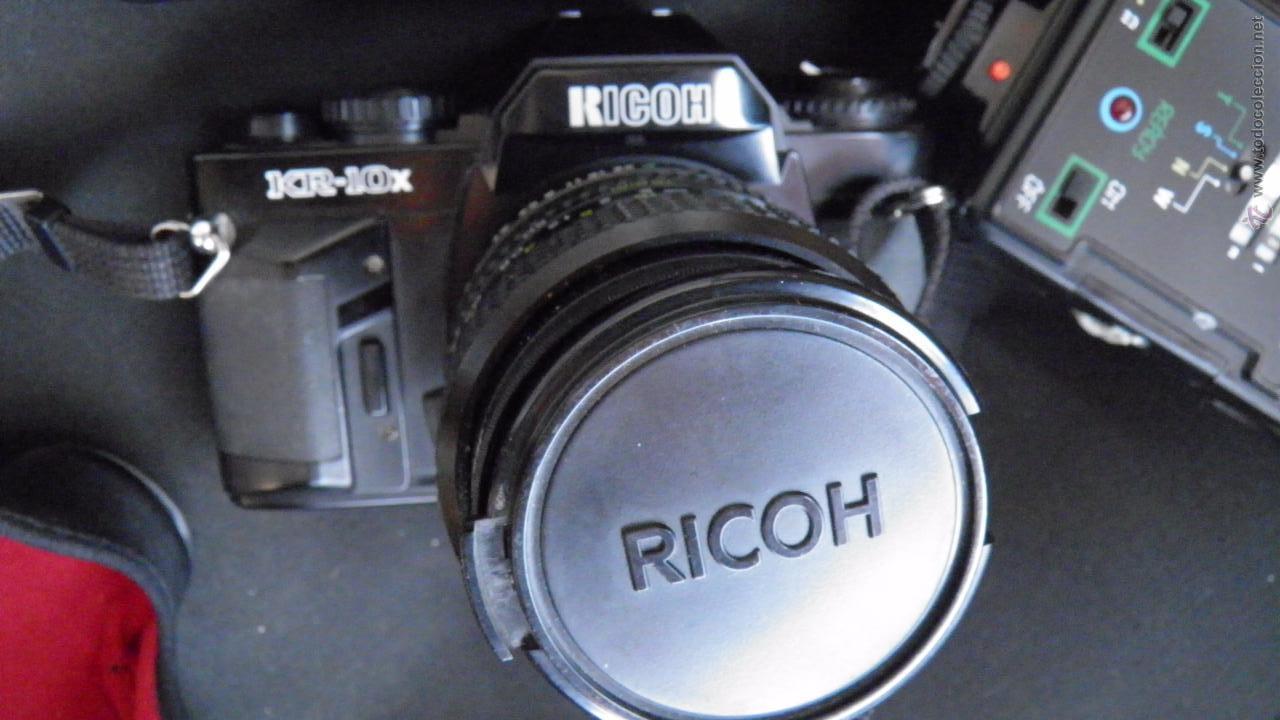 Cámara de fotos: RICOH.JAPONESA,OBJETIVO,FILTRO,DOS FLASH,BOLSA,FILM 24 EXP.VER IMAGENES Y DETALLES EN IMAGENES - Foto 8 - 50071521