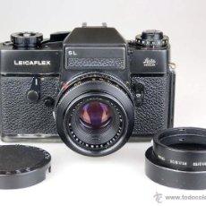 Cámara de fotos: LEITZ LEICA LEICAFLEX SL BLACK SUMMICRON F:2 / 50MM. Lote 50232424