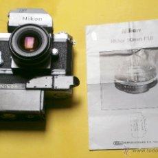 Cámara de fotos: NIKON F PHOTONIC T MOTOR F-36 Y NIKON NIKKOR 50MM F: 1,8. Lote 50868497