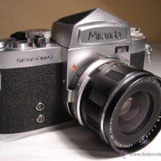 Cámara de fotos: MIRANDA SENSOMAT RS DE 1968. Lote 50949554