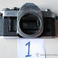 Cámara de fotos: LOTE DOS CUERPOS CANON AE 1. Lote 26300638