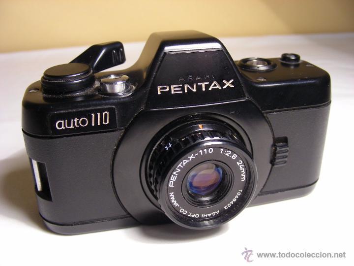 PENTAX AUTO 110 DE 1980 (Cámaras Fotográficas - Réflex (no autofoco))