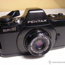 Cámara de fotos: PENTAX AUTO 110 DE 1980. Lote 51484309