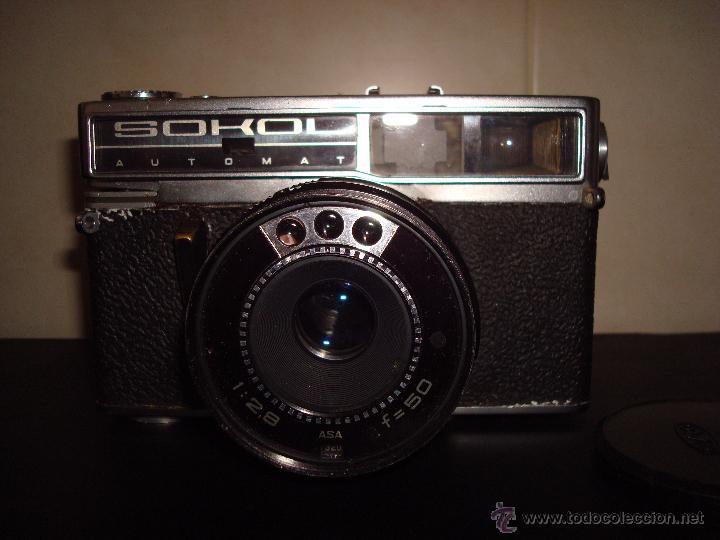 Cámara de fotos: ANTIGUA CAMARA OMO SOKOL AUTOMAT OBJETIVO 1:28 ASA F=50 CON FUNDA - Foto 2 - 51583721