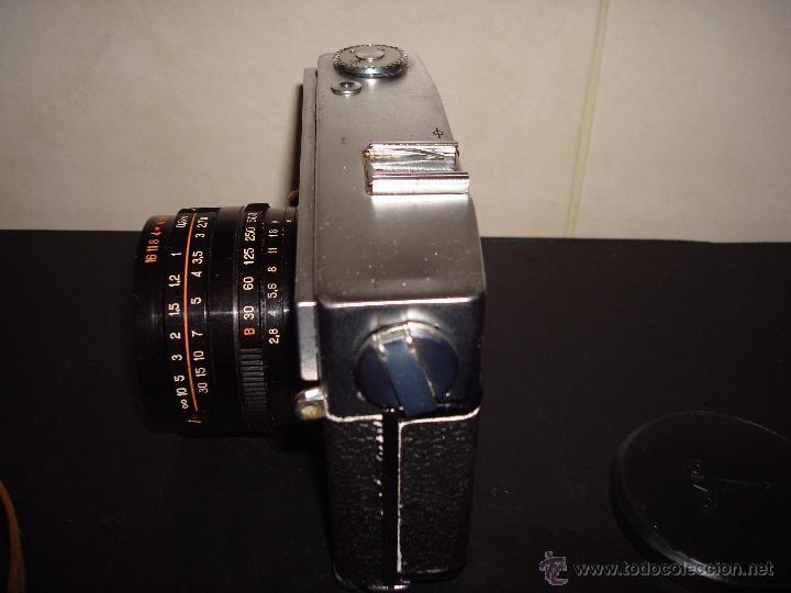 Cámara de fotos: ANTIGUA CAMARA OMO SOKOL AUTOMAT OBJETIVO 1:28 ASA F=50 CON FUNDA - Foto 8 - 51583721