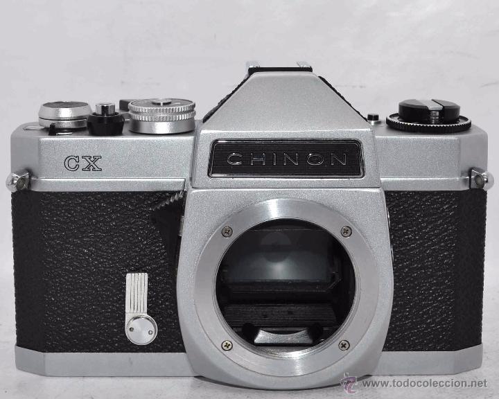 EXCELENTE CUERPO DE CAMARA REFLEX..JAPON 1975...CHINON CX, ROSCA DE 42 MM..BUEN ESTADO..FUNCIONA (Cámaras Fotográficas - Réflex (no autofoco))