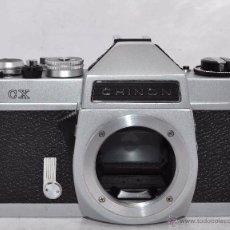 Cámara de fotos: EXCELENTE CUERPO DE CAMARA REFLEX..JAPON 1975...CHINON CX, ROSCA DE 42 MM..BUEN ESTADO..FUNCIONA. Lote 52536303