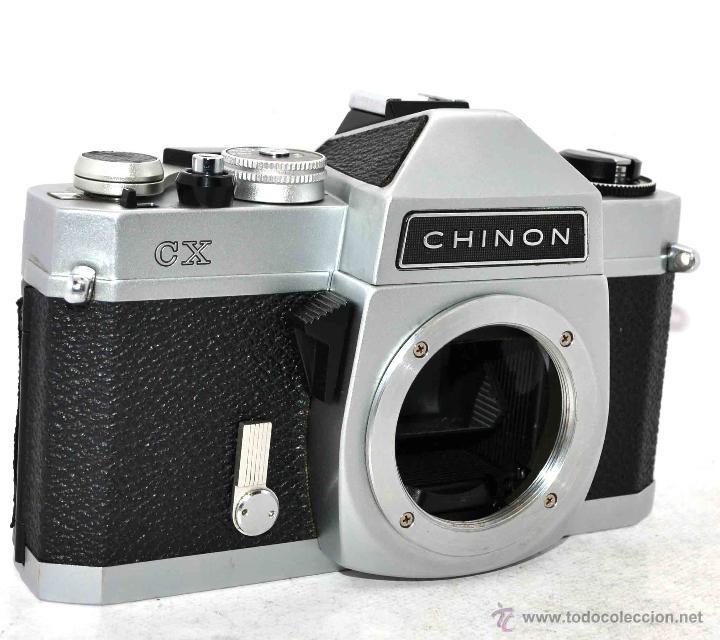 Cámara de fotos: EXCELENTE CUERPO DE CAMARA REFLEX..JAPON 1975...CHINON CX, ROSCA DE 42 mm..BUEN ESTADO..FUNCIONA - Foto 2 - 52536303