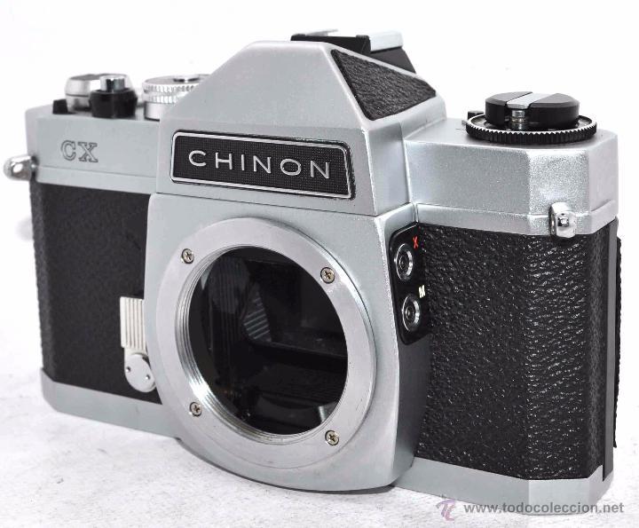 Cámara de fotos: EXCELENTE CUERPO DE CAMARA REFLEX..JAPON 1975...CHINON CX, ROSCA DE 42 mm..BUEN ESTADO..FUNCIONA - Foto 3 - 52536303