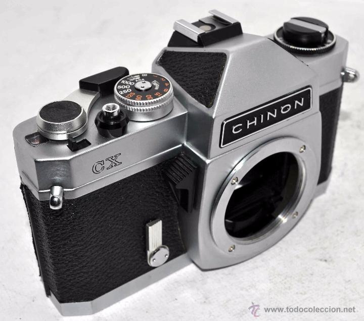 Cámara de fotos: EXCELENTE CUERPO DE CAMARA REFLEX..JAPON 1975...CHINON CX, ROSCA DE 42 mm..BUEN ESTADO..FUNCIONA - Foto 4 - 52536303