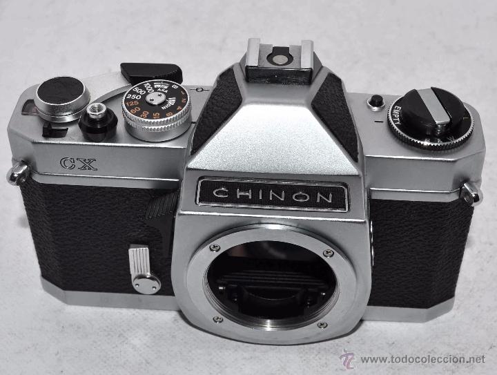 Cámara de fotos: EXCELENTE CUERPO DE CAMARA REFLEX..JAPON 1975...CHINON CX, ROSCA DE 42 mm..BUEN ESTADO..FUNCIONA - Foto 5 - 52536303
