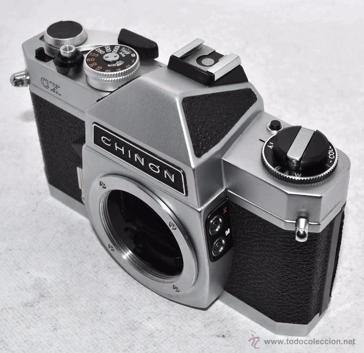 Cámara de fotos: EXCELENTE CUERPO DE CAMARA REFLEX..JAPON 1975...CHINON CX, ROSCA DE 42 mm..BUEN ESTADO..FUNCIONA - Foto 6 - 52536303