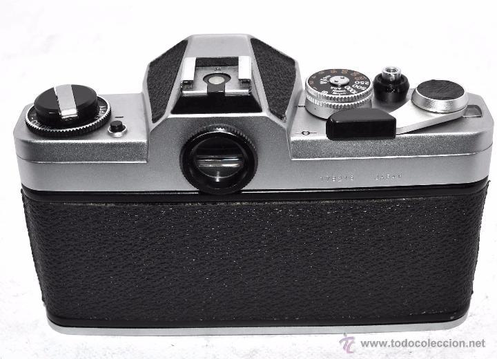 Cámara de fotos: EXCELENTE CUERPO DE CAMARA REFLEX..JAPON 1975...CHINON CX, ROSCA DE 42 mm..BUEN ESTADO..FUNCIONA - Foto 8 - 52536303
